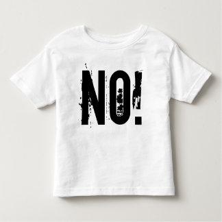 NO! Toddler Fine Jersey T-Shirt