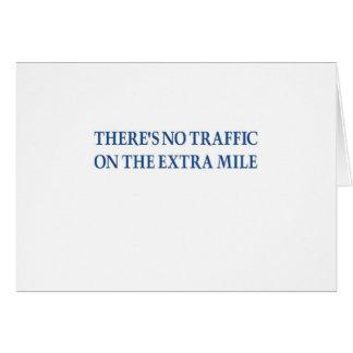 No Traffic (blue warrior) Card