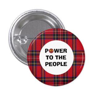 No Trident Scottish Independence People Power 3 Cm Round Badge