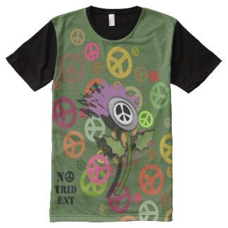 No Trident Scottish Thistle T-Shirt All-Over Print T-Shirt