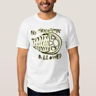 No Trilobites Allowed Tshirt