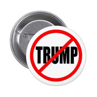 'NO TRUMP' 2.25-inch 6 Cm Round Badge