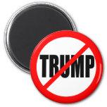 'NO TRUMP' 6 CM ROUND MAGNET