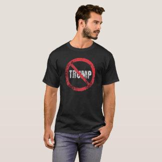 No Trump Anti Trump Grunge Distressed Protest T-Shirt