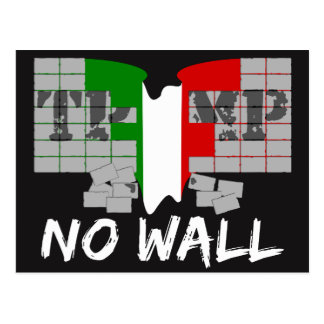 NO TRUMP WALL POSTCARD