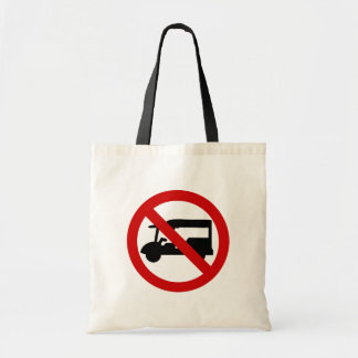 NO Tuk-Tuk TAXI ⚠ Thai Road Sign ⚠ Tote Bag