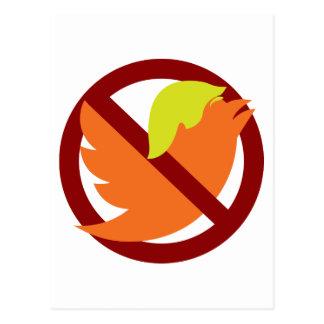 No Tweets Postcard