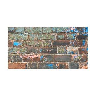 No Two Bricks The Same Canvas Print