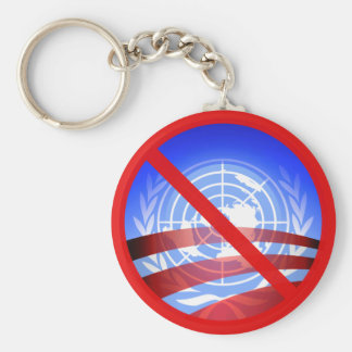No United Nations Approval Needed! Keychains