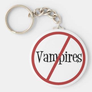 No Vampires Keychain