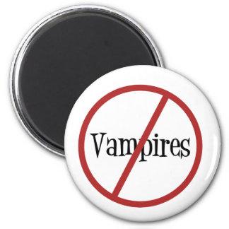 No Vampires Magnet