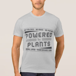 No Violence Powered by Plants T-Shirt