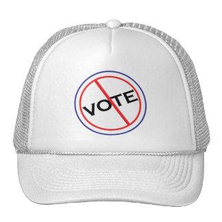 No Vote Hat