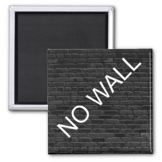 NO WALL SQUARE MAGNET