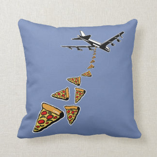 No war more pizza cushion