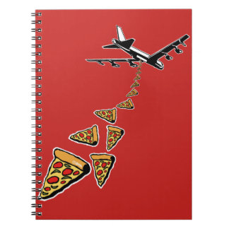 No war more pizza notebooks