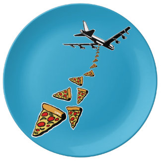 No war more pizza plate