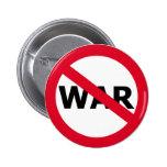 No War Pinback Buttons