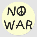 NO War T-shirts and Gifts Sticker