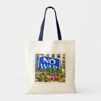 No War tote Canvas Bag