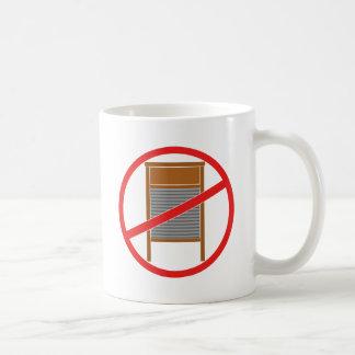 No Washboards! Coffee Mug