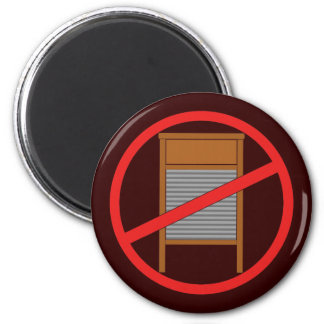 No Washboards! Fridge Magnets