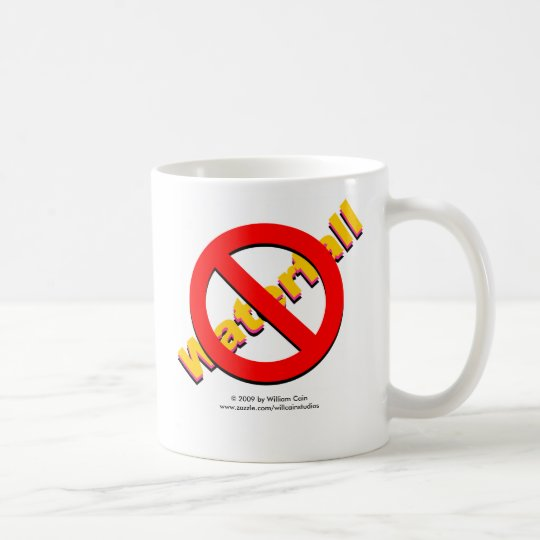 No Waterfall Coffee Mug