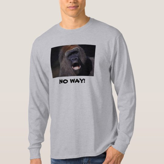 NO WAY! Gorilla Sweatshirt
