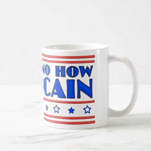 No Way No How No McCain Coffee Mugs