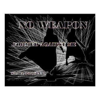 No Weapon Formed! Poster