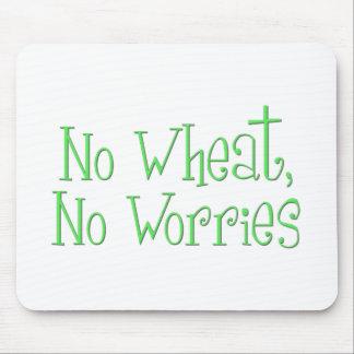 No Wheat No Worries Mousepads