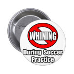 No Whining During Soccer Practice