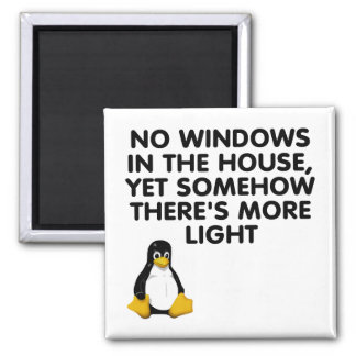 No windows in the house... magnet