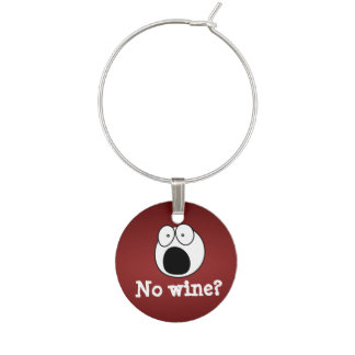 No wine? wine charm
