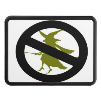 No witches trailer hitch cover