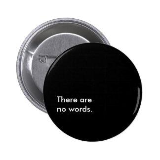 No words 6 cm round badge