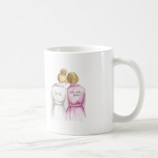 No Words Blonde Bride Blonde Mother Coffee Mug