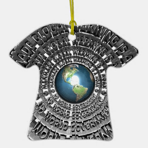 No World Government Christmas Tree Ornaments