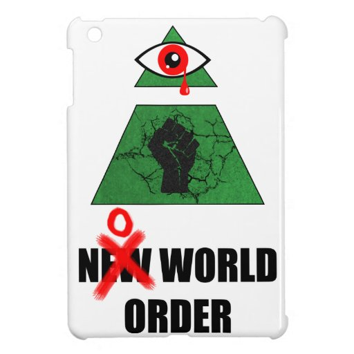 No World Order iPad Mini Case