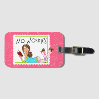 No Worries Luggage Tag