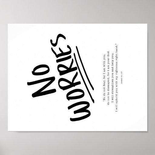 No Worries! Poster