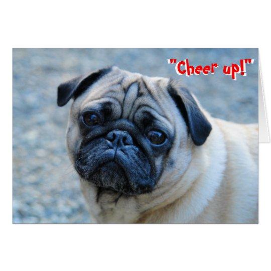 No Wrinkles Pug Birthday Card