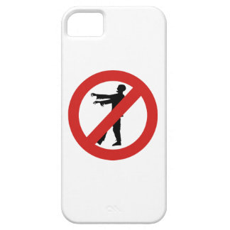 No Zombies iPhone 5 Case