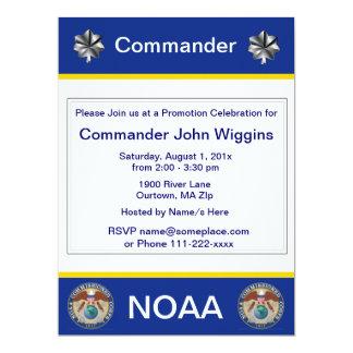 NOAA  Commander Invitation