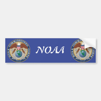 NOAA Commissioned Corps Bumper Sticker