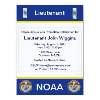 NOAA Lieutenant jg Invitation