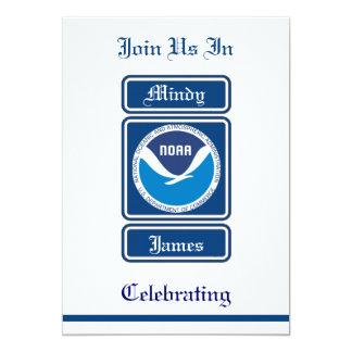 NOAA Wedding Invitation