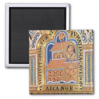 Noah and Ark, detail one of panels Verduner Fridge Magnet