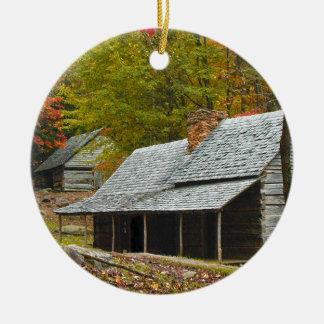 "Noah ""Bud"" Ogle Cabin in the Smokies Christmas Ornament"