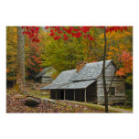 "Noah ""Bud"" Ogle Cabin in the Smokies Poster"